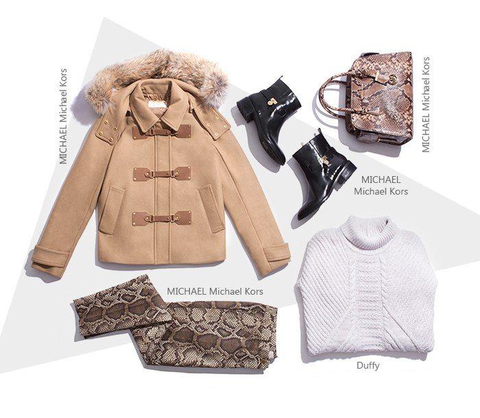 Смело приручаем диких зверей и рептилий, ведь стиль сафари сейчас на пике моды! Все вещи, представленные в образе, есть в наличии в нашем интернет-бутике. #topbrandsru #look #fashion #michaelkors #style