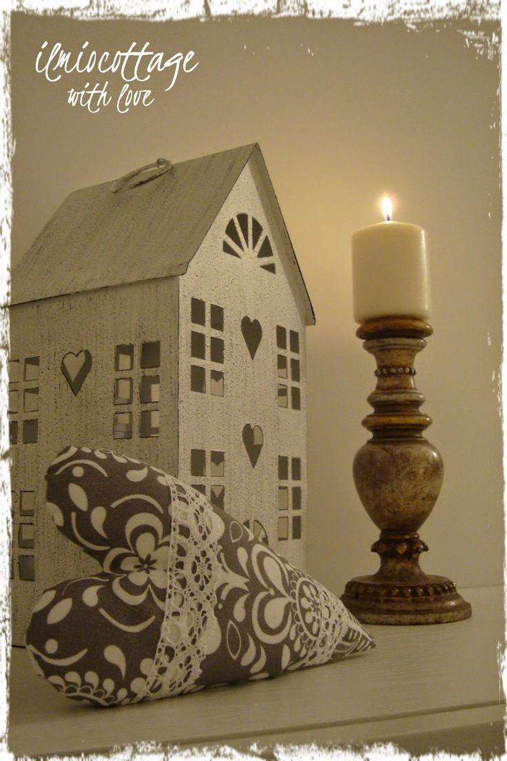 """Il mio cottage: Un """" vecchio """" portacandela !"""