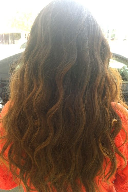 Wavy Brown Hair Tumblr