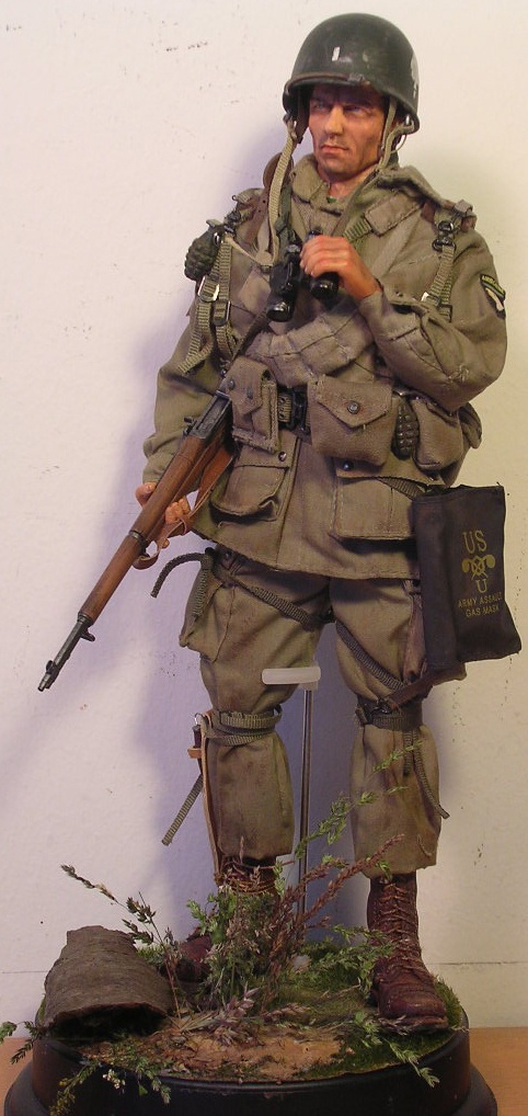 WWII US Army 101st Airborne Division trooper...