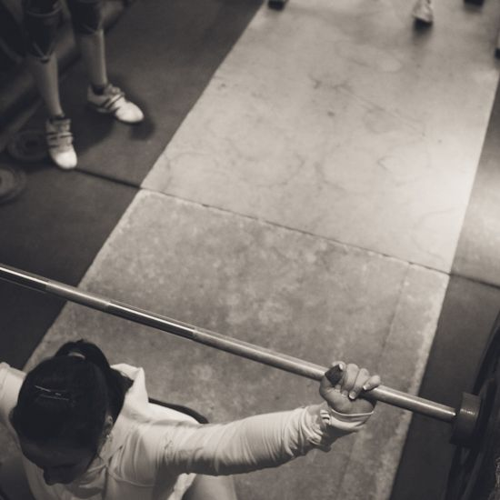 """I am a woman. I Crossfit daily. My inner thighs touch. And I love Crossfit because of it."""