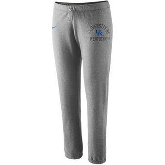 Nike Kentucky Wildcats Women's Rally Fleece Pants - Ash