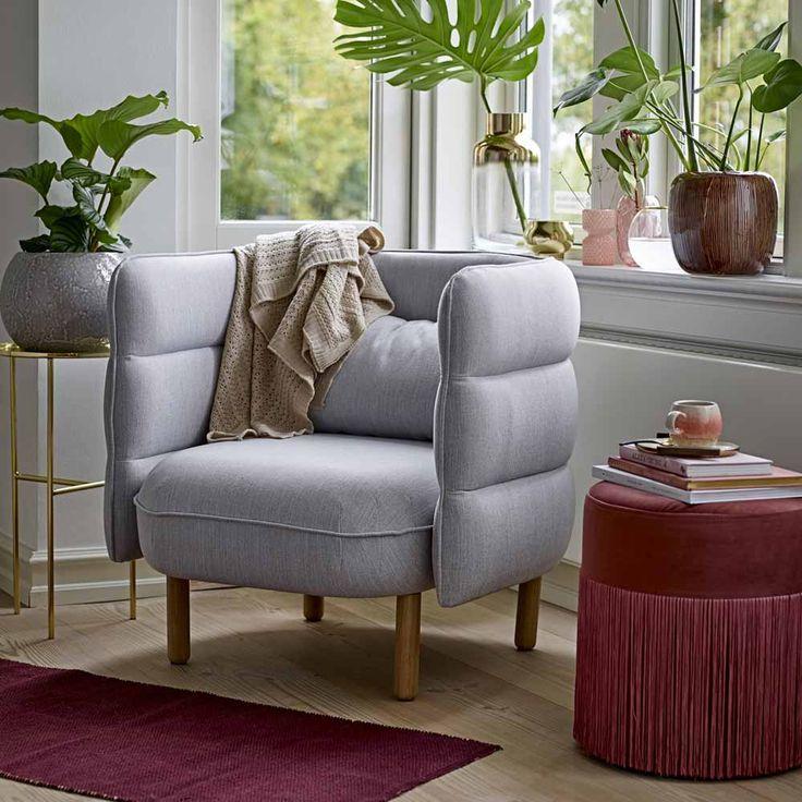Die besten 25+ Sessel grau Ideen auf Pinterest Sessel, Vintage - ideen buromobel design ersa arbeitszimmer