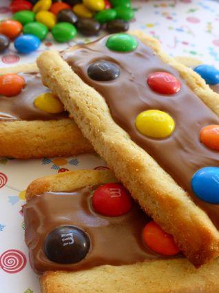 Biscuits aux M&M's