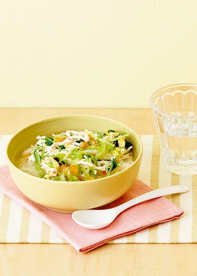 鶏ささみと野菜のヘルシースープごはん のレシピ・作り方 │ABCクッキングスタジオのレシピ | 料理教室・スクールならABCクッキングスタジオ