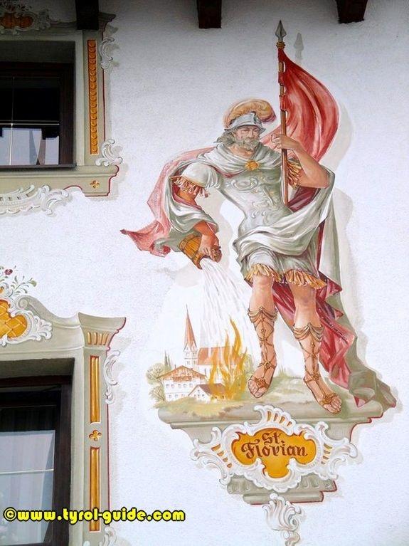 St. Florian mural