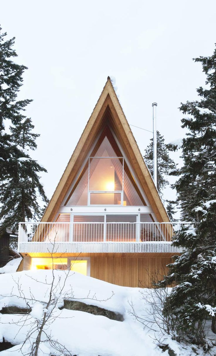 Scott and Scott Architects Whistler Cabin 1 304 best The A Frame images