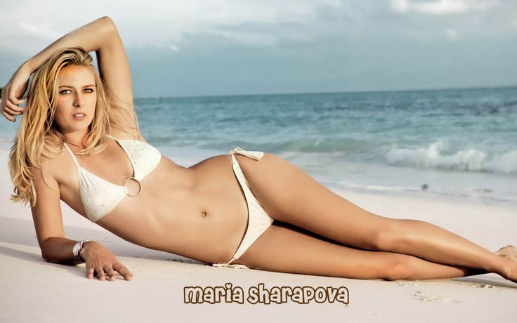 Maria Sharapova Hotest Wallpaper