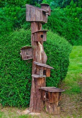 31 best casetas para p jaros images on pinterest - Casetas de pajaros ...