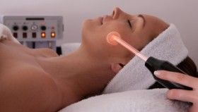 High Frequency Treatment for acne, wrinkles, sagging skin, large pores, etc.