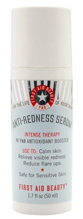 First Aid Beauty: Anti-Redness Serum- Reduce redness and inflammation