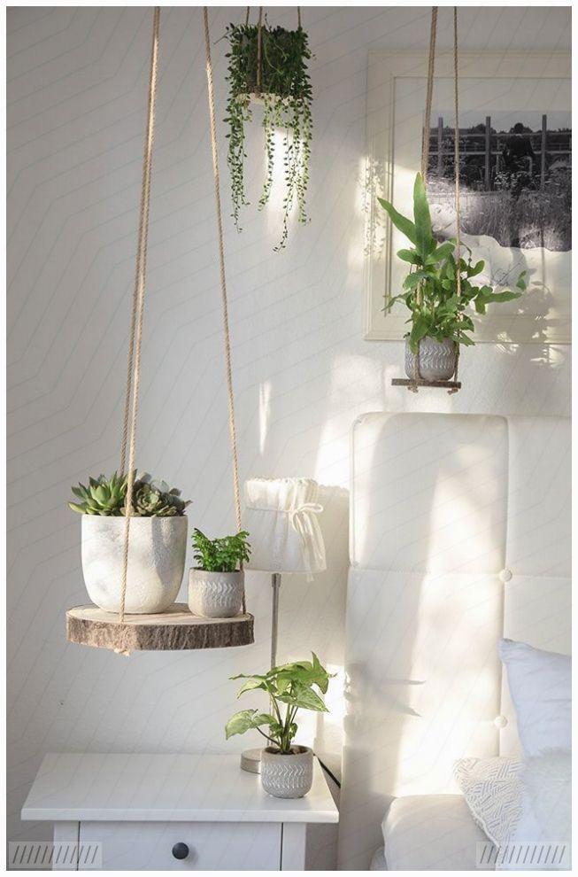Diy Holz Pflanzenampel Pflanzenampel Flur Dekoration Dekoration