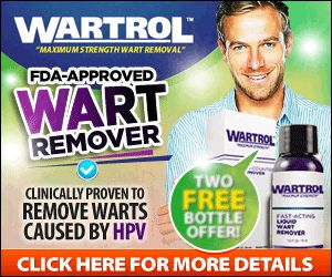 Wartrol Easily removes common & plantar warts caused by HPV.