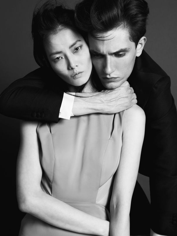 Photographer Patrick Houi captures models Jakob Wiechmann and Jay Shin i