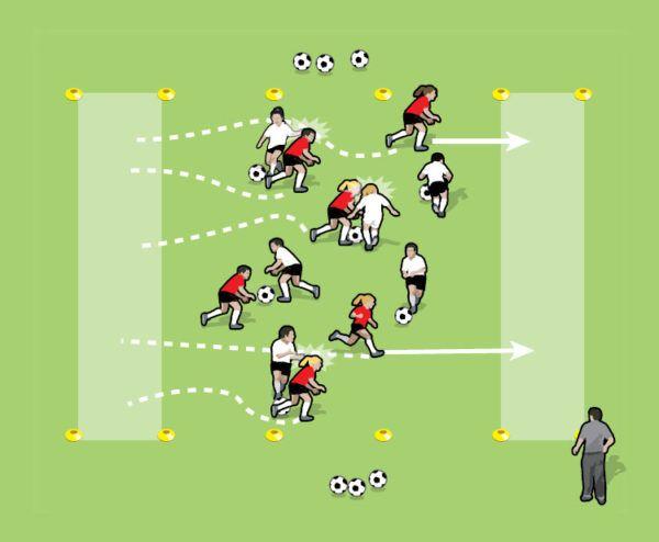Zombie Attack Soccer Drills Zombie Attack Fun Soccer Games