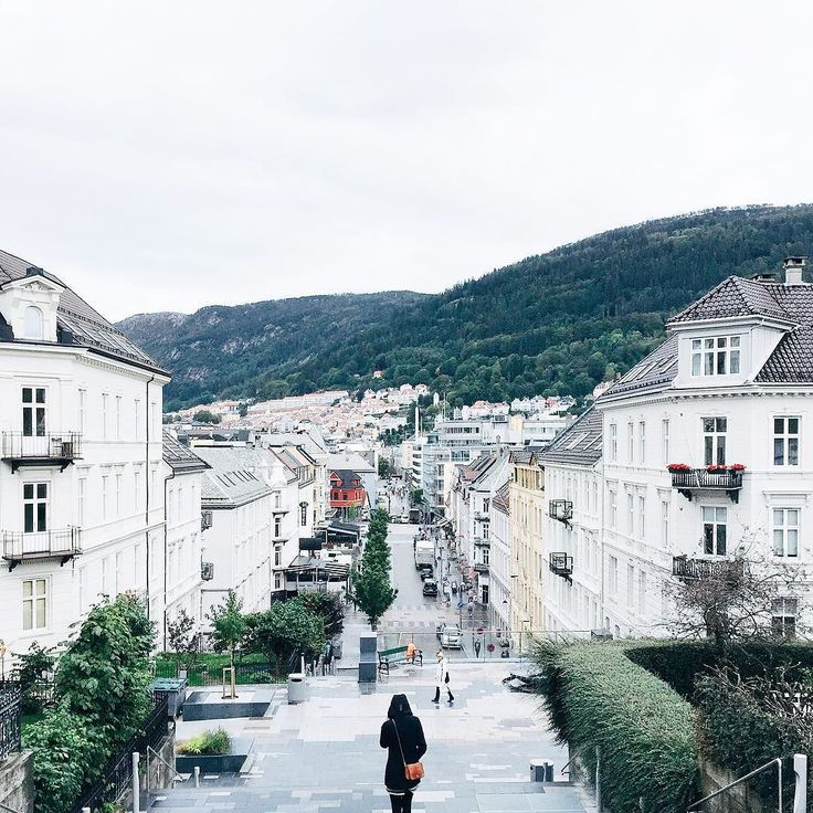 Bergen Norway's Second City and the Gateway to the Fjords. Photo by @peterjwu on Instagram.