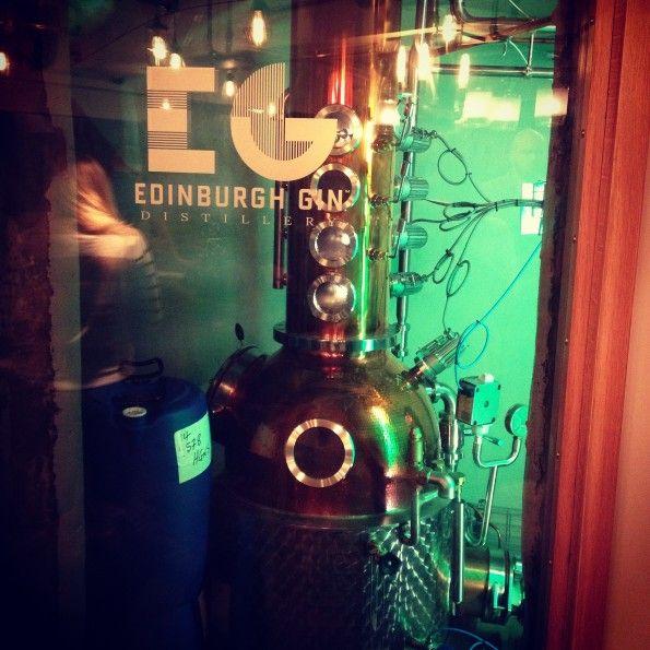 Still at Edinburgh Gin distillery