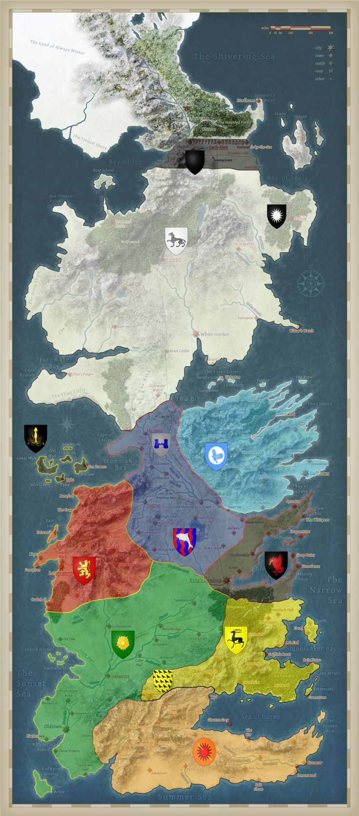 237 best images about westeros on pinterest - Westeros map high resolution ...