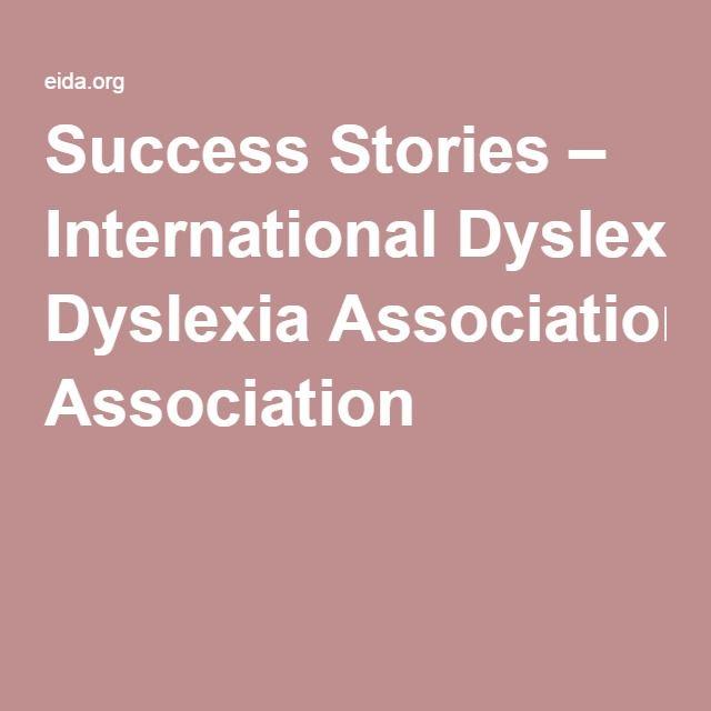 Success Stories – International Dyslexia Association