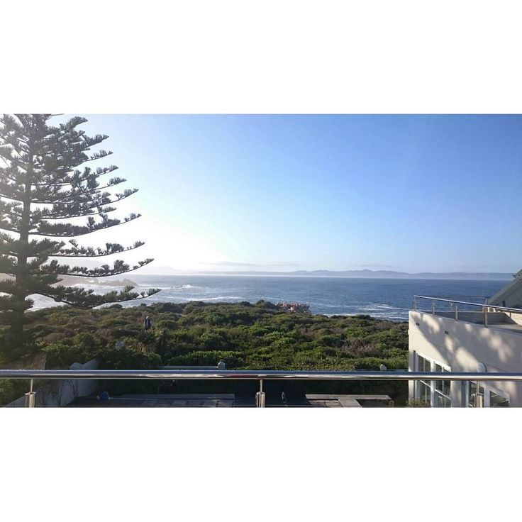 Woke up to this awesome view this morning. Hermanus.  Oceans Eleven Guesthouse