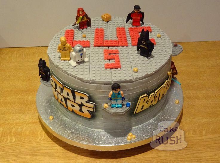 Lego Batman Symbol Sheet Cake Ideas