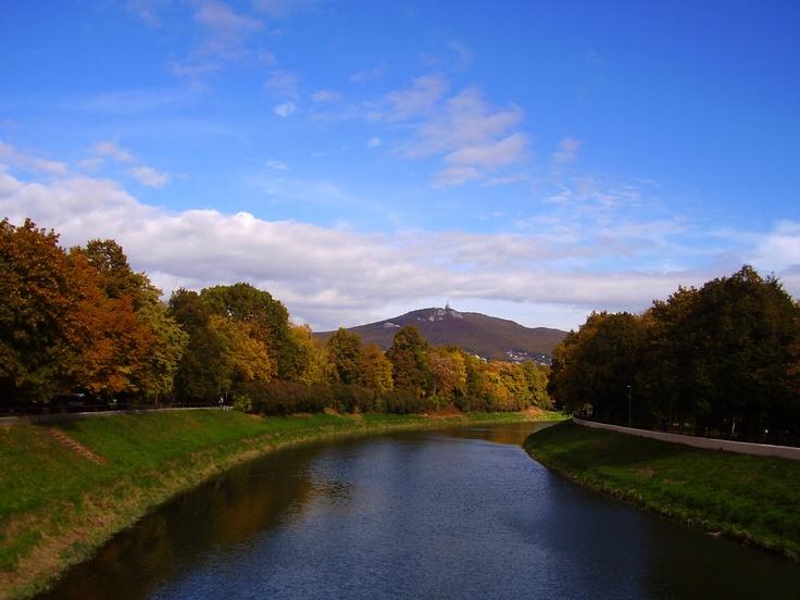 River Nitra, Slovakia