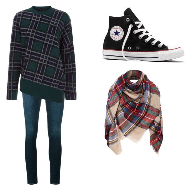 """""""Baby it's cold outside"""" by mystyleisme on Polyvore featuring Frame, Cédric Charlier and Converse"""