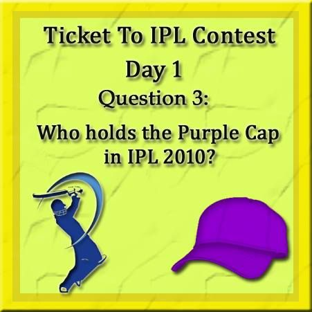 Do you really want to watch the match on the grounds? Play #LincPens 'Ticket to IPL Contest' and get lucky..  Here goes the next question
