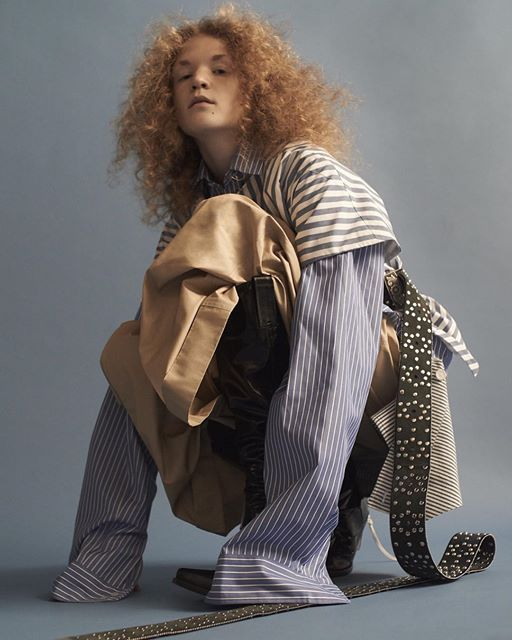 "lukasschwering: "" regram dazedfashion by johnny dufort and lotta volkova """