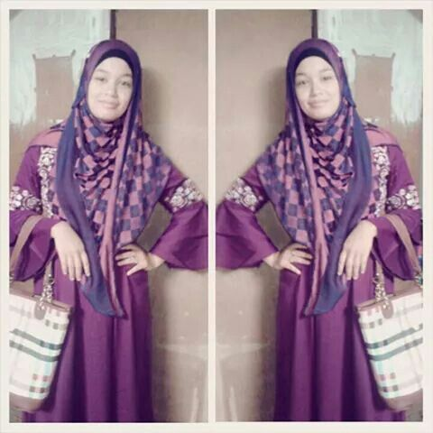 My sister hijab