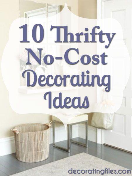 Pinterest thrifty home decor ideas