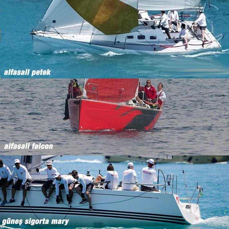 11-12-13 Ağustos tarihlerinde 3 takımımız ile birlikte Tayk Olympos Regatta yarışına katılıyoruz. IRC3 sınıfında Şahin Akın Kaptanlığında Alfasail Petek, Utku Çetiner kaptanlığında Alfasail Falcon ile, IRC2 sınıfında Deniz Yılmaz kaptanlığında Güneş Sigorta Mary ile yarışıyoruz. Cuma günü saat 17.55 de başlayacak yarış toplam 3 etaptan oluşuyor. İlk Etap 37 mil uzunluğunda İstanbul Trilye (Zeytinbağı ), ikinci etap Cumartesi Trilye'de yapılacak 1 adet orsa-pupa rotalı koy içi etabı ve son…
