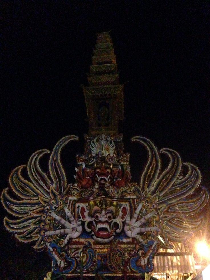 Bali cremation ceremony
