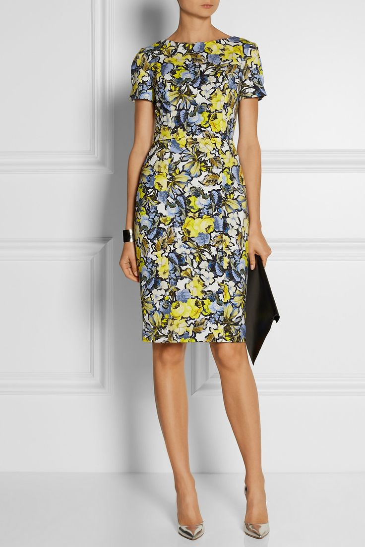 Erdem | Joyce floral-print stretch-twill dress $1,395