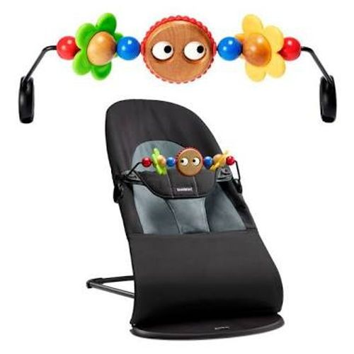 Baby Bjorn Bouncer with Wooden Toys