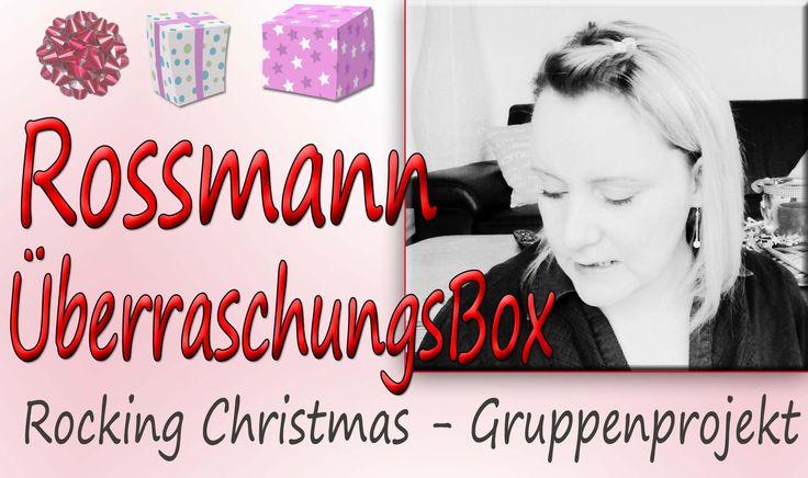 ***Rocking Christmas*** ROSSMANN weihnachtliche Überraschungs Box   Grup...