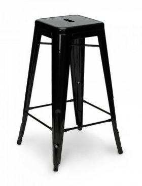 Pall 'Marseille' - Svart 75 cm i gruppen Barstolar & pallar hos Reforma Sthlm  (SM-1025-black)