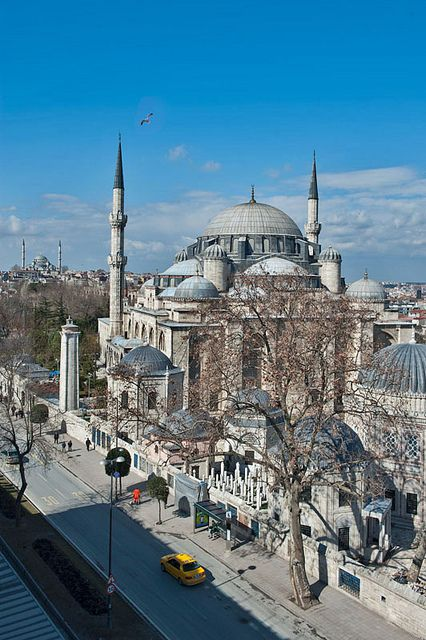 ISLAMIC ARCHITECTURE - The Sehzade Mosque, Istanbul, TURKEY - MIMAR SINAN Architect.
