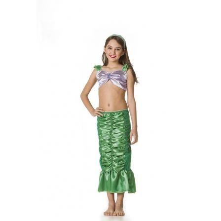 Fantasia Infantil Marina Marina é uma linda sereia que vai encantar as meninas, muitas aventuras para sonhar, num mundo cheio de fantasias e imaginação. Uma sereia charmosa, que vai arrasar nas festas e brincadeiras.  Imagens Ilustrativas, Produto sujeito a pequenas variações.