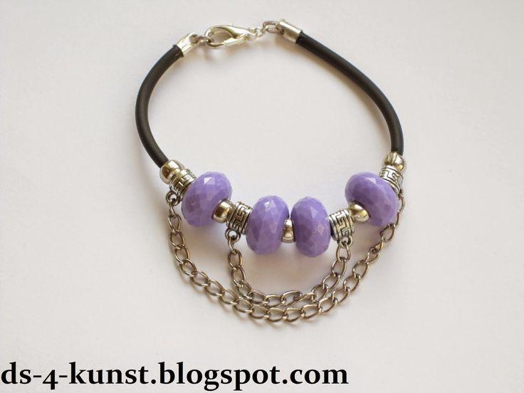 DS 4 Kunst: Bransoletka z łańcuszkami -  Bracelet with chains ...