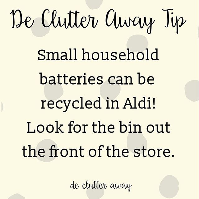 Did you know this? Take them to Aldi from now on!  #recycle #recycling #recycler #declutter #decluttering #declutteringtips #declutteryourlife #professionalorganiser #professionalorganizer #organise #organize #organiser #organizer #smallbusiness #brisbane #brisbanesmallbusiness #bne #qld #qldhomes #brisbaneig #brisbanehomes #queensland #queenslander #tip #clean #movinghouse #environment #environmentallyfriendly