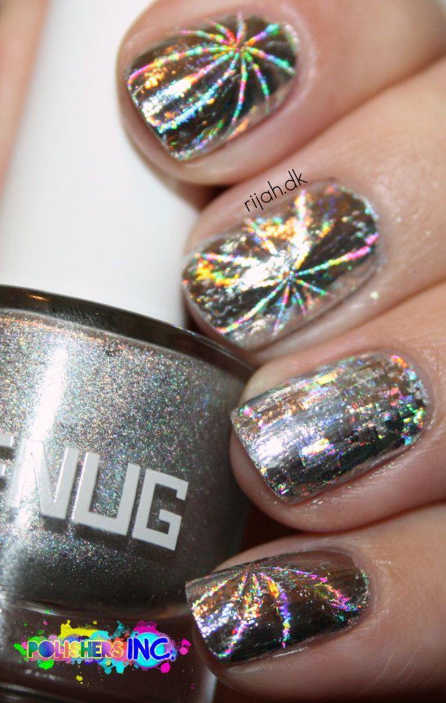 152 best nailART <3 GREY & SILVER images on Pinterest | Nail art ...