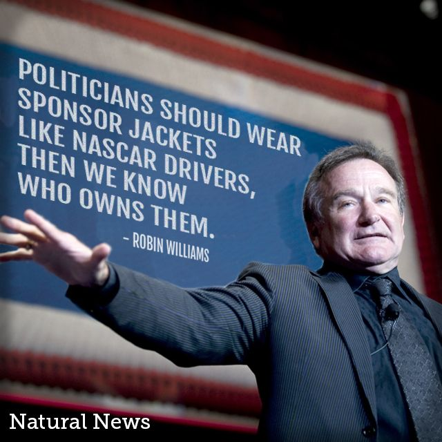 Robin Williams on Politicians.