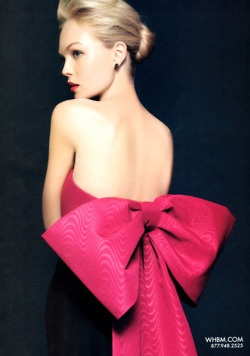 Big pink bow = love!Beautiful Bows, Fashion, Style, Clothing, Dresses, Big Pink, Pink Bows, Hot Pink, Big Bows