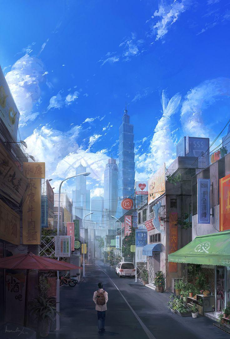 ArtStation - Taiwan1, Asen Liy