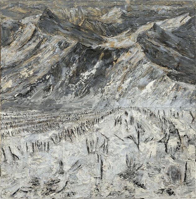 """""""Mount Tabor"""" by Anselm Kiefer, Germany, born in 1945."""