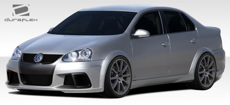 2005-2010 Volkswagen Jetta 4DR Duraflex R-GT Wide Body Kit - 18 Piece