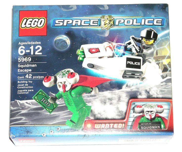 LEGO Space Police Squidman Escape 5969 NEW Alien/Policeman Minifigures #LEGO