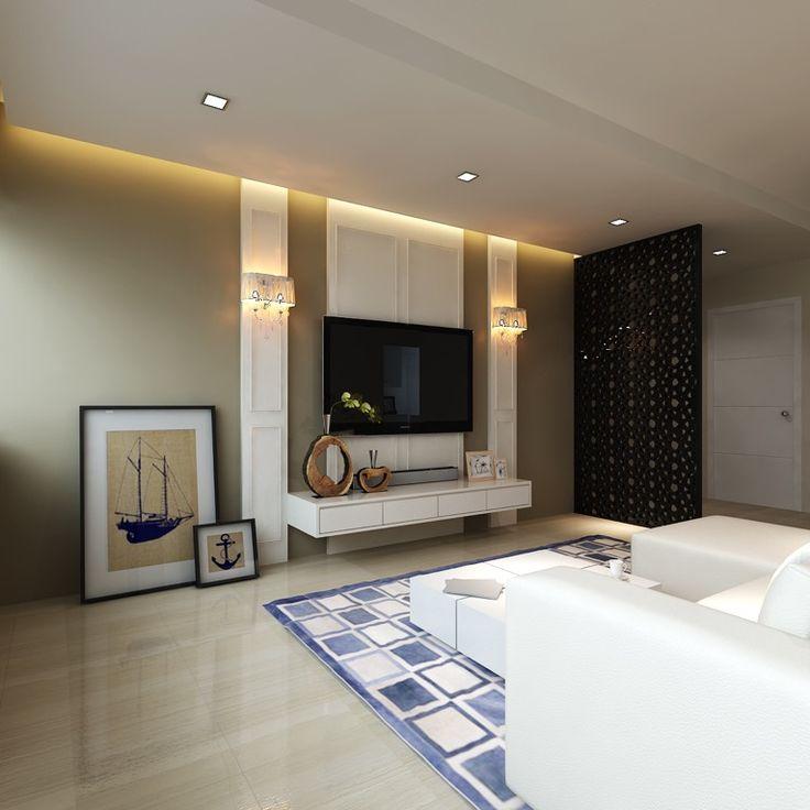 Interior Design For Hdb At Ang Mo Kio Avenue 1: HDB Minimalistic Luxury