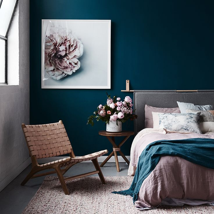 17 Best ideas about Teal Accent Walls – Blue Walls Bedroom